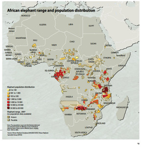 Elephantpopulationdistribution